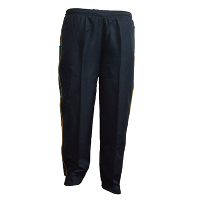 Aquinas College Trackpant Navy/Gold/Forest