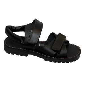 Aquinas College Black Safari Sandals EU Sizes